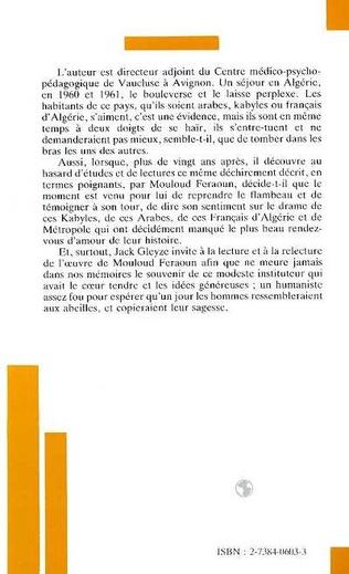 4eme Mouloud Feraoun