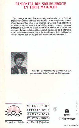 4eme Rencontre des soeurs Brontë en terre malgache
