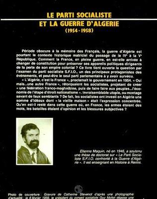4eme Le parti socialiste et la guerre d'Algérie