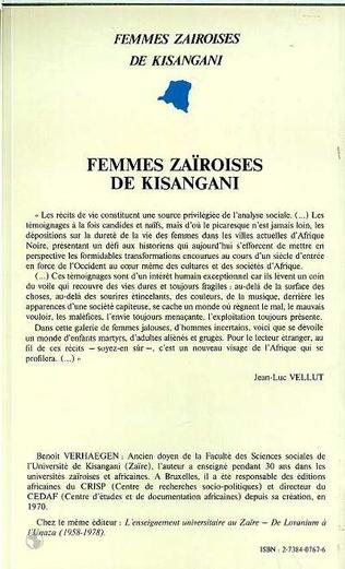 4eme Femmes zairoises de Kisangani