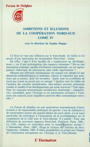 4eme Ambitions et illustrations de la coopération nord-sud : Lomé IV