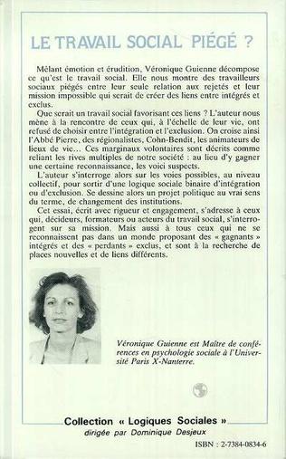 4eme LE TRAVAIL SOCIAL PIÉGÉ