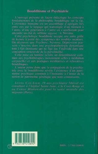 4eme Bouddhisme et psychiatrie