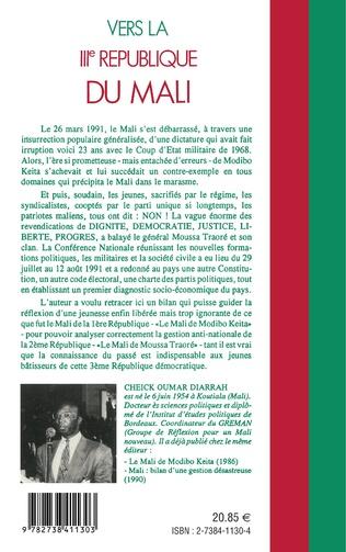 4eme Vers la IIIème république du Mali