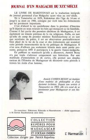 4eme Journal d'un Malgache du XIXè siècle