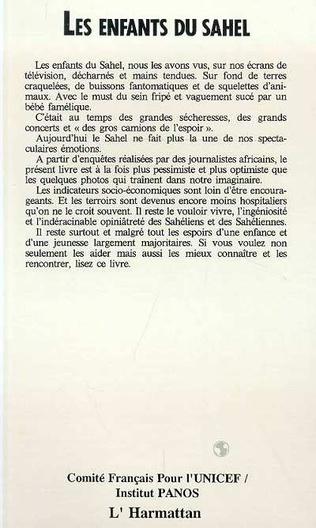 4eme Les enfants du Sahel