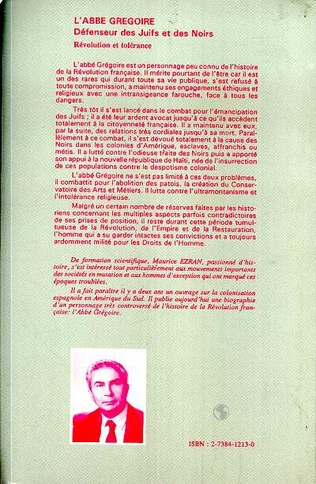 4eme L'abbé Grégoire, défenseur des Juifs et des Noirs