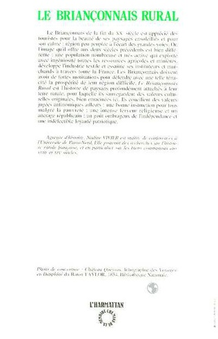 4eme Le Briançonnais rural au XVIIème siècle et au XIXème siècle