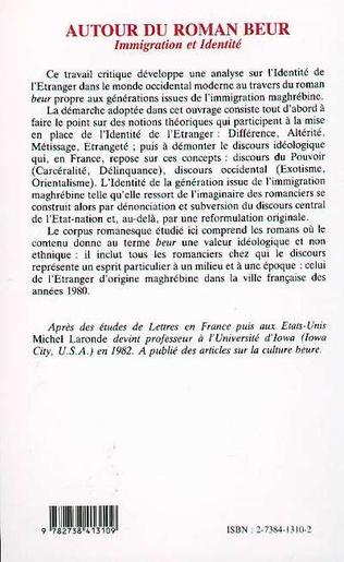 4eme Autour du roman beur