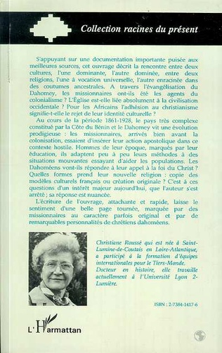4eme Mission catholique et choc des modèles culturels en Afrique