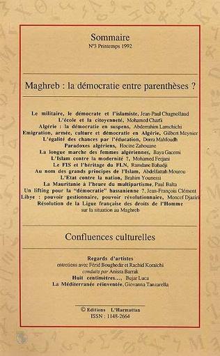 4eme Maghreb : la démocratie entre parenthèses