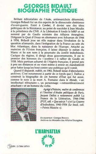 4eme Georges Bidault
