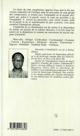 4eme Dictionnaire des proverbes africains