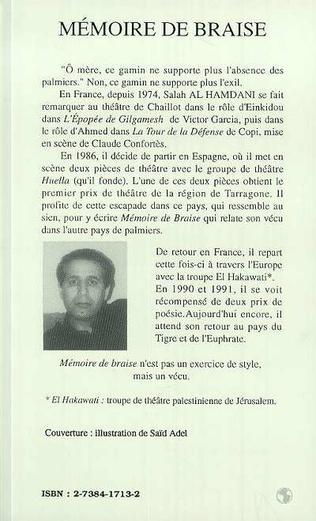 4eme Mémoire de braise