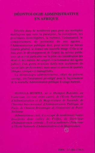 4eme Déontologie administrative en Afrique