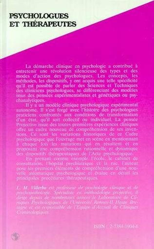 4eme Psychologues et thérapeutes