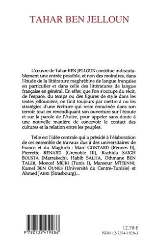 4eme Tahar Ben Jelloun