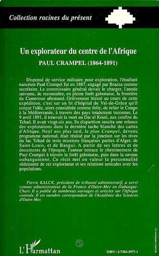 4eme Un explorateur du centre de l'Afrique : Paul Crampel (1864-1891)