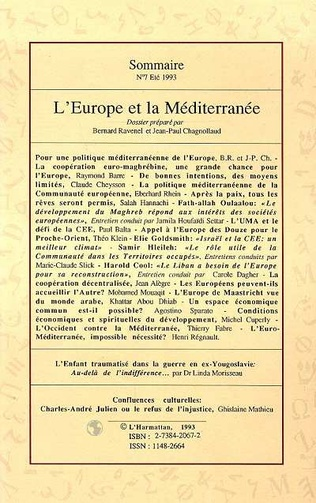 4eme L'Europe et la Méditerranée