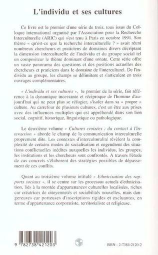 4eme L'individu et ses cultures