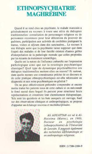 4eme Ethnopsychiatrie maghrébine