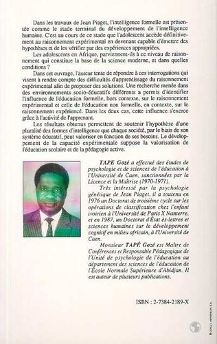 4eme L'intelligence en Afrique