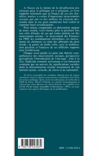 4eme Conscience politique, persuasion et mobilisation des engagements