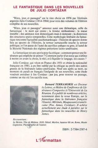 4eme Le fantastique dans les nouvelles de Julio Cortazar