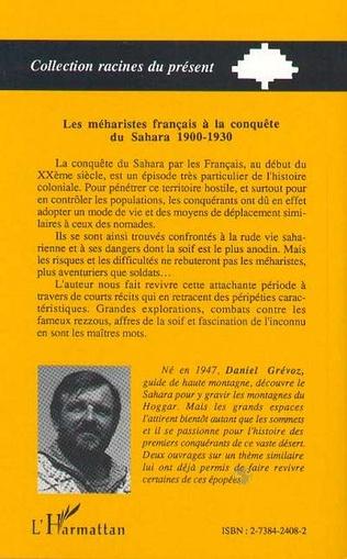 4eme Les Méharistes à la conquête du Sahara 1900-1930