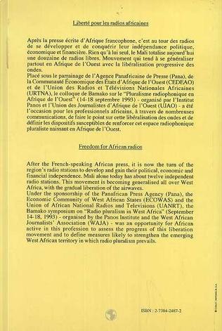 4eme Liberté pour les radios africaines