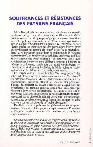 4eme Souffrances et résistances des paysans français