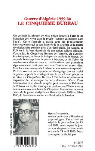 4eme Guerre d'Algérie 1959-1960