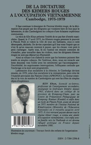 4eme De la dictature des Khmers rouges à l'occupation viêtnamienne