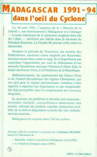 4eme Madagascar 1991-1994