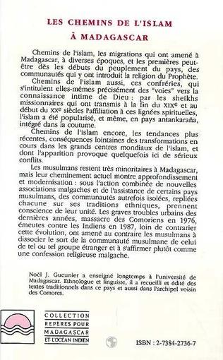 4eme Les chemins de l'islam à Madagascar