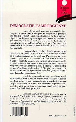 4eme Démocratie cambodgienne
