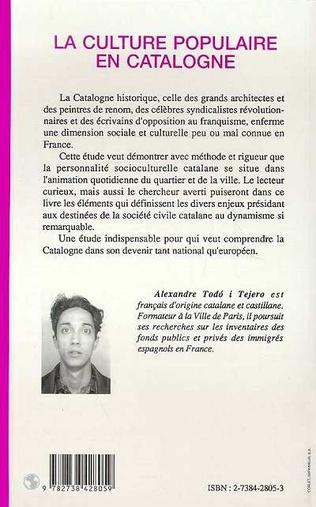 4eme La culture populaire en Catalogne
