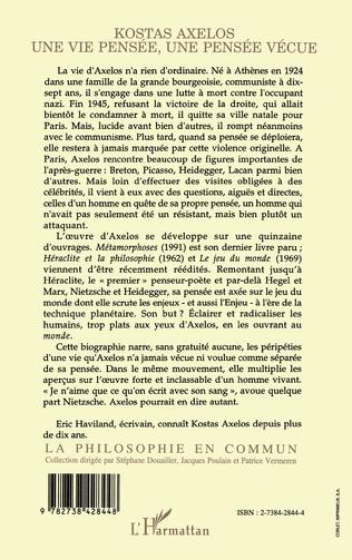 4eme Kostas Axelos
