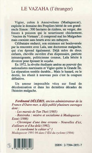 4eme Le Vazaha (L'étranger)
