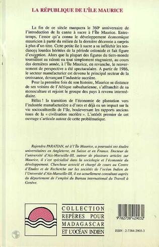 4eme La République de l'lle Maurice