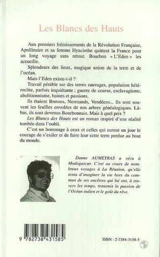 4eme Les Blancs des Hauts (Roman)
