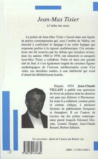 4eme Jean-Max Tixier à l'arête des mots