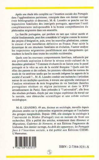 4eme Familles portugaises, projets et destins