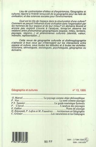 4eme Géographie et cultures n°13