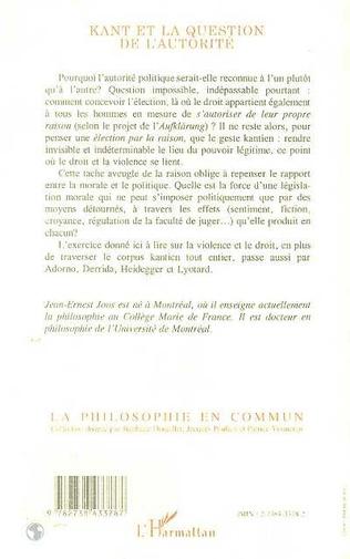 4eme Kant et la question de l'autorité