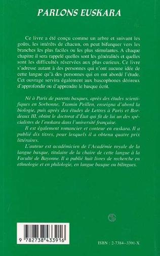 4eme Parlons euskara