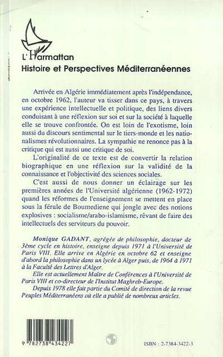4eme Parcours d'une intellectuelle en Algérie