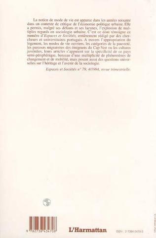 4eme Modes de vie et société portugaise