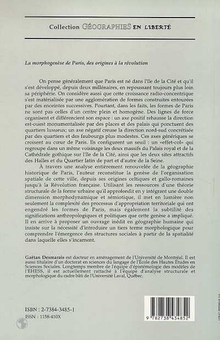 4eme La morphogenèse de Paris