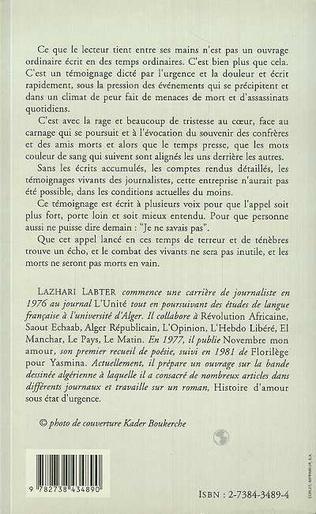 4eme Journalistes algériens
